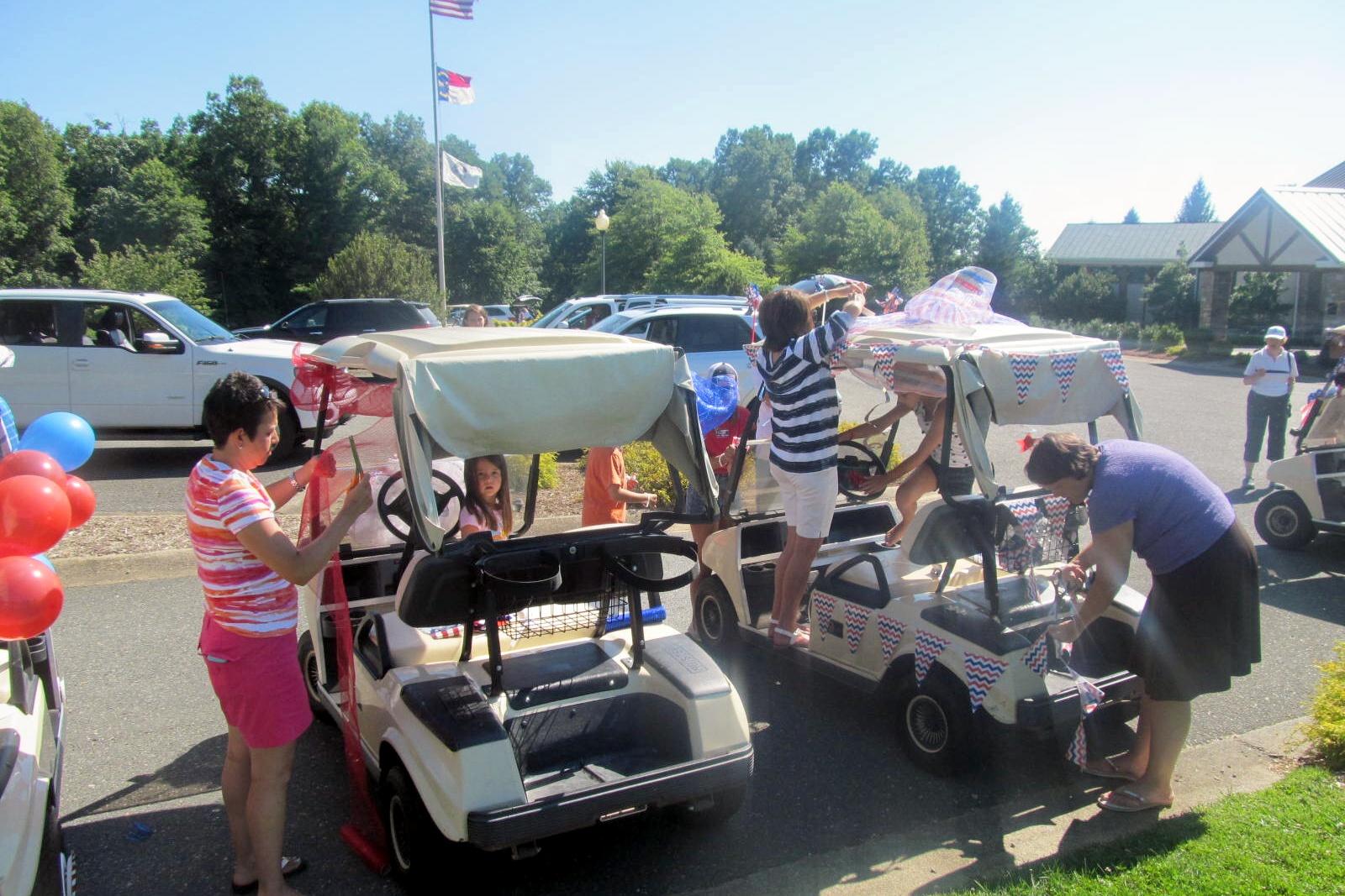 Kids Cart Parade