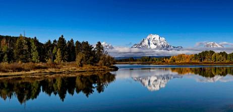 Mt. Moran Reflecting in Snake River