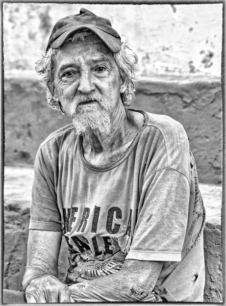 _E7A9501 man who called himself Fidel in Trinidad B&W.jpg
