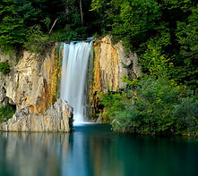 Plitvice waterfall in Croatia & Slovenia on an M&M Photo Tour.