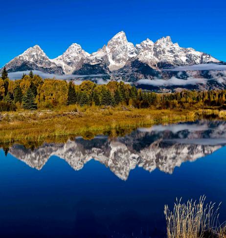 Teton Mountains Reflection