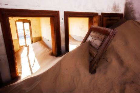 Namibia under sand