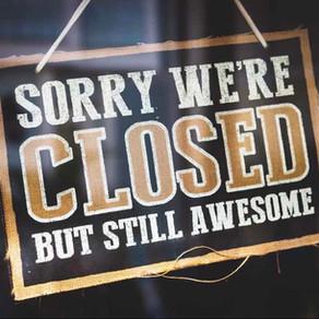 Closed temporarily!