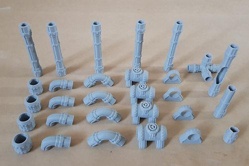 Pipe starter set
