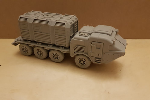 Container transport truck