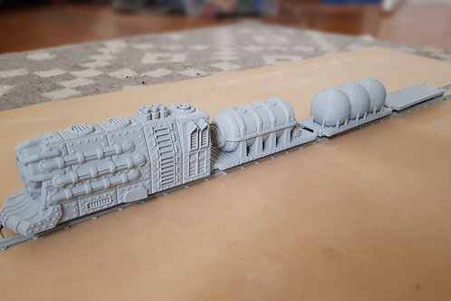 Gothic train set