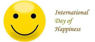 Happiness - International day of Happiness 20th March