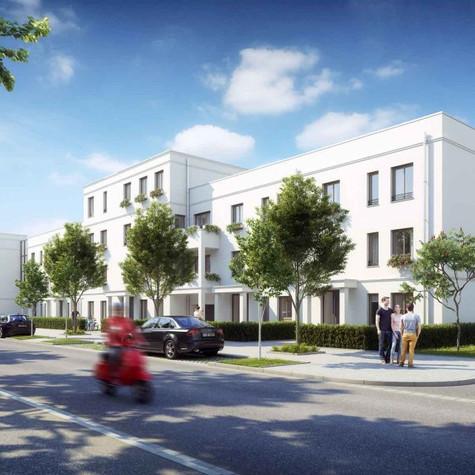 Projektname:Neubau WA (32 Reinhäuser und 41 Wohnungen) mit 2 Tiefgarage,Kanalstr., 82362 Weilheim