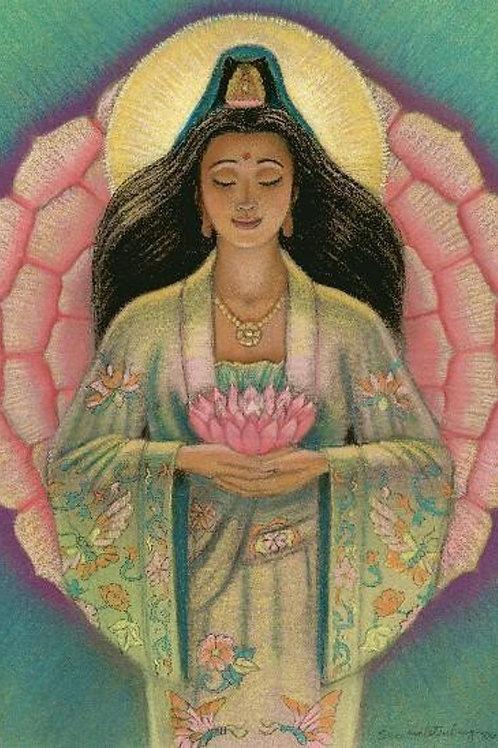 Goddess Kuan Yin Artist Print