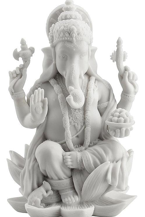 Ganesh Seated On Lotus