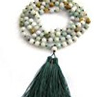 Jadeite Jade Beads Buddhist Prayer Mala for Meditation