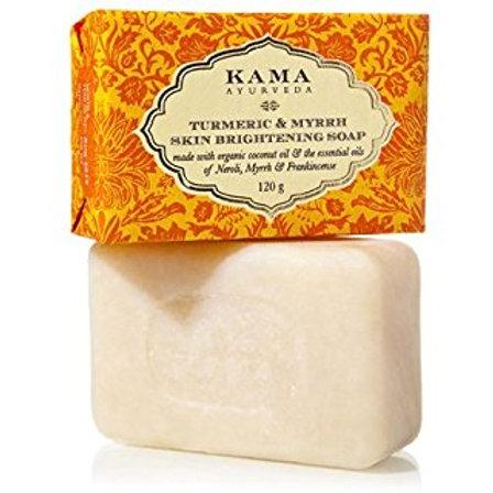 Tumeric & Myrrh Skin Brightening Soap