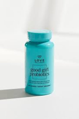 Good Girl Probiotics Love Wellness