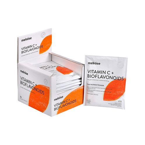 Melrose Vitamin C Plus Bioflavonoids Orange Flavoured 100g