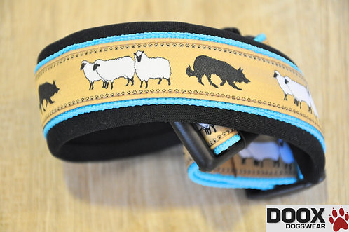 Halsband SHEEP BORDER blue