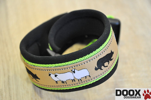 Halsband SHEEP BORDER green