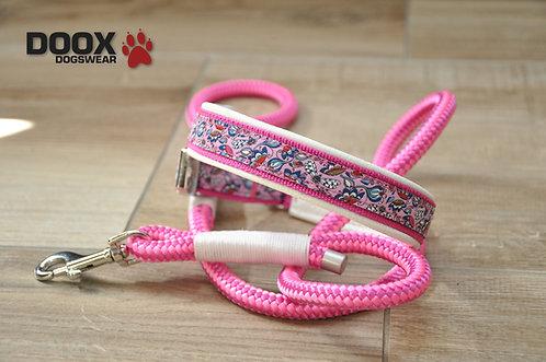 Halsband & Leine - pink lady