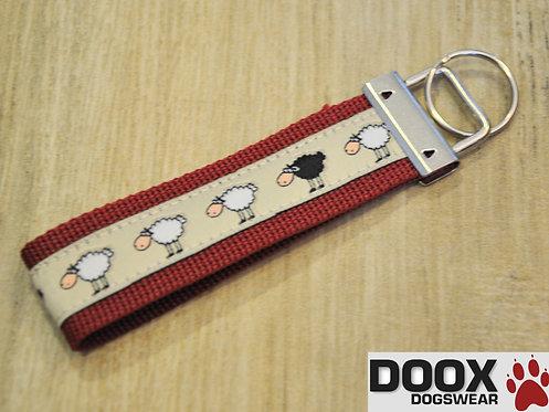 Schlüsselanhänger SHEEP dark-red