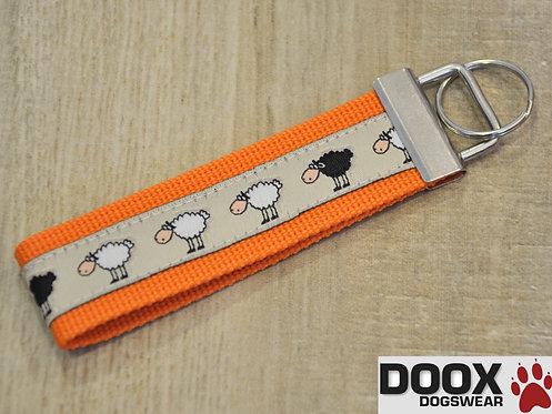 Schlüsselanhänger SHEEP BORDER orange