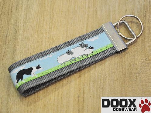 Schlüsselanhänger SHEEP BORDER grey