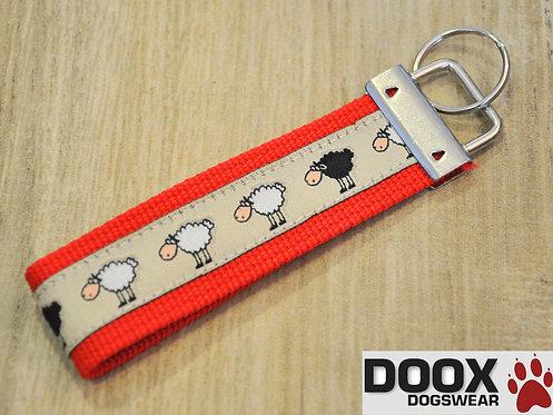 Schlüsselanhänger SHEEP red