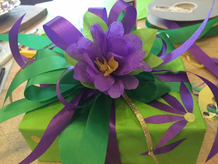Specialty Gift Wrapping Class:  Basics