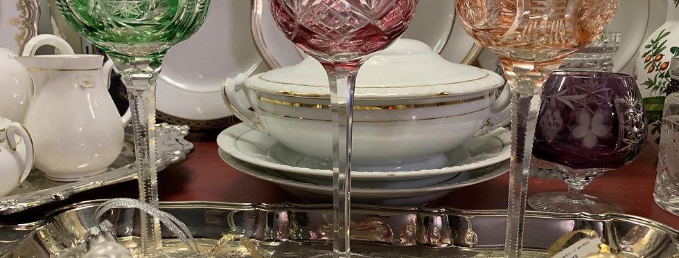 European Glassware (per glass)