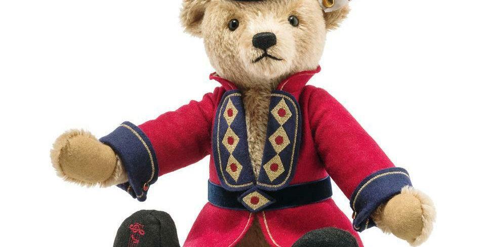 Steiff Nutcracker Teddy Bear, Cinnamon