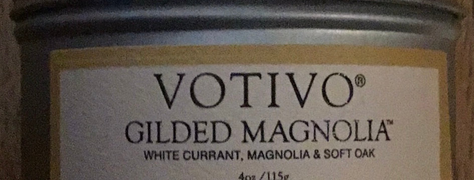 Votivo Gilded Magnolia Candle