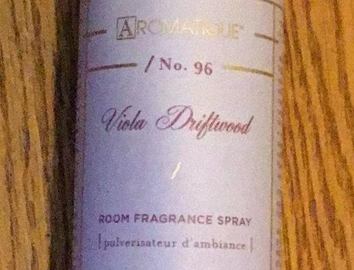 Aromatique Viola Driftwood Room Fragrance Spray