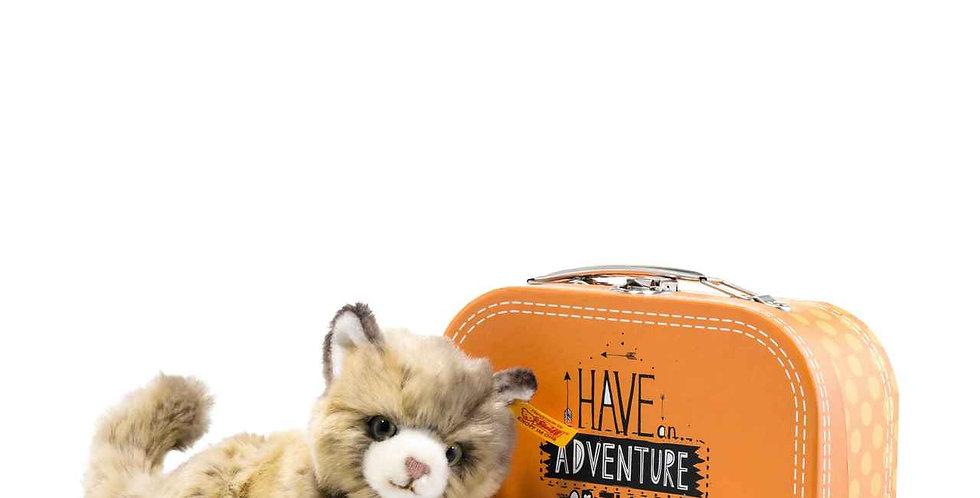 Lucy Cat in Suitcase Steiff