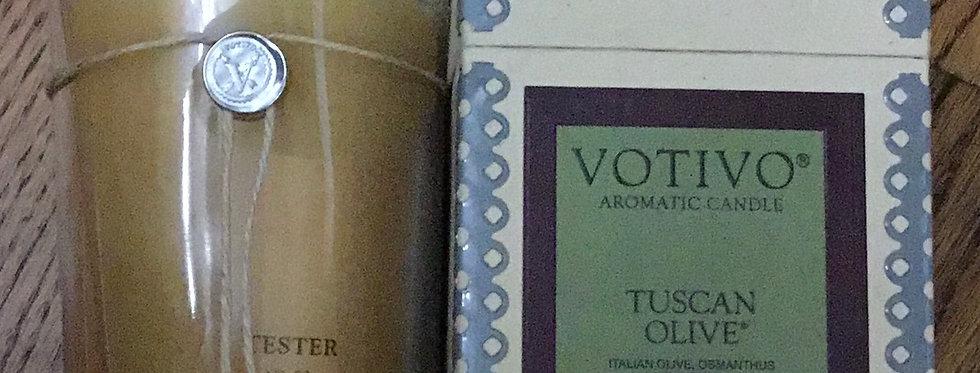 Votivo Tuscan Olive Candle
