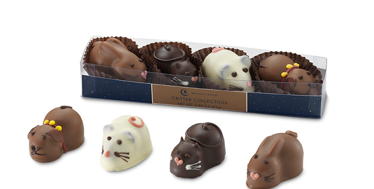CRITTER TRUFFLE COLLECTION 4-PC