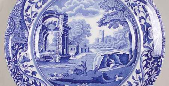 Spode Blue Italian Bread and Butter Plate