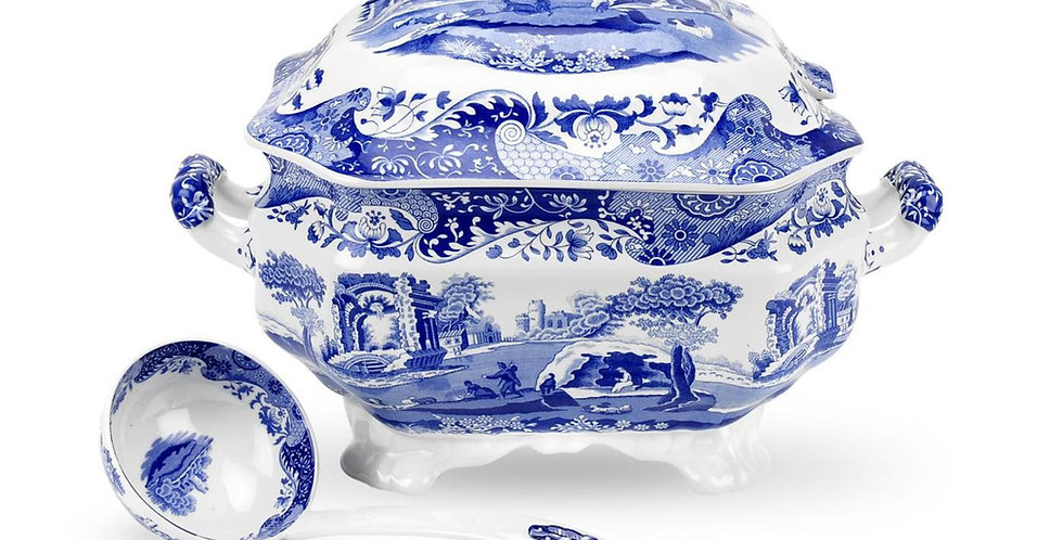 Spode Blue Italian Soup Tureen