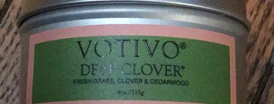 Votivo Deep Clover Candle