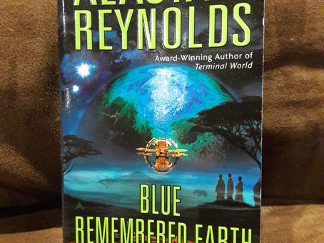 """Book review: """"Blue Remembered Earth"""" by Alastair Reynolds"""