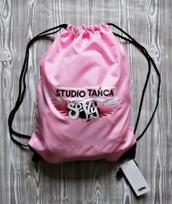 plecak worek z nadrukiem reklamowym