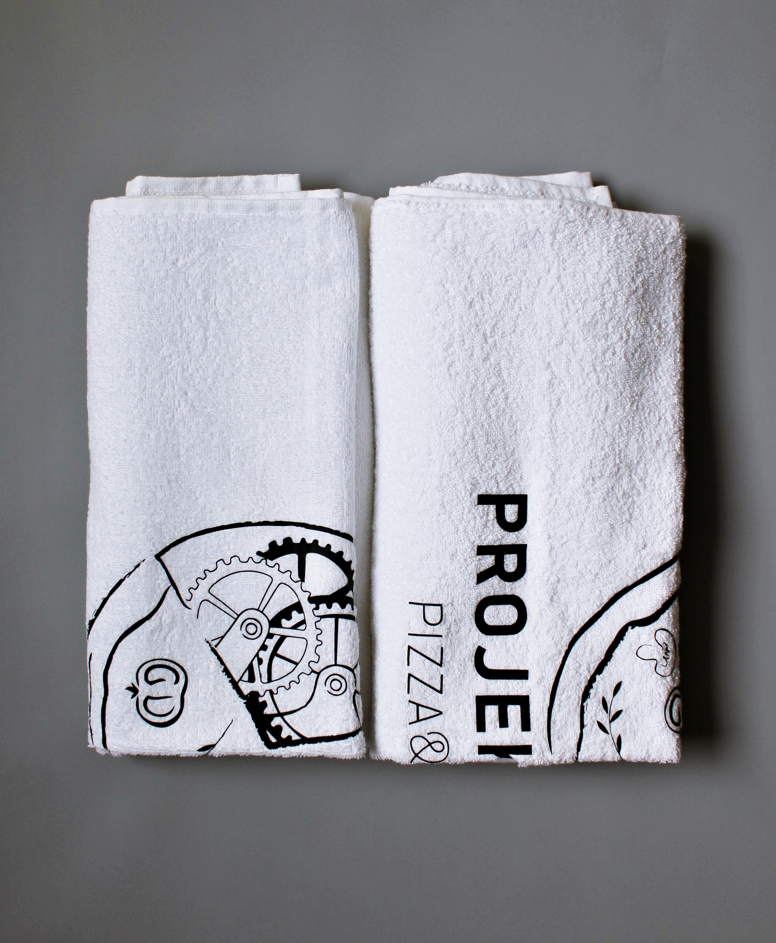 ręczniki z nadrukiem reklamowym