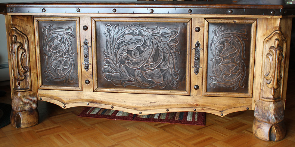 Custom Engraved Desk
