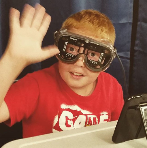 Functional Vision Screening for back to school with Poplar Bluff Library
