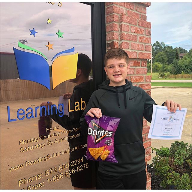 Jackson has completed another Level in Reading Plus!