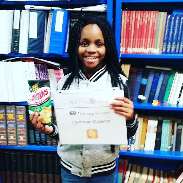 Dymond was awarded her first Level Up!