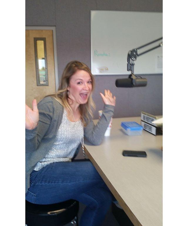 Alex unleashed with Galen Stevens at KKLR radio!