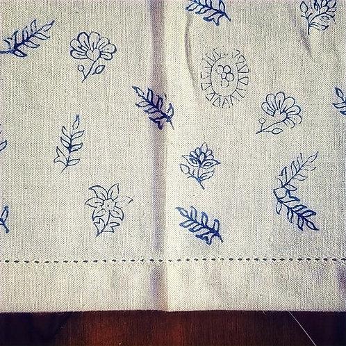 Handstamped Tea Towel