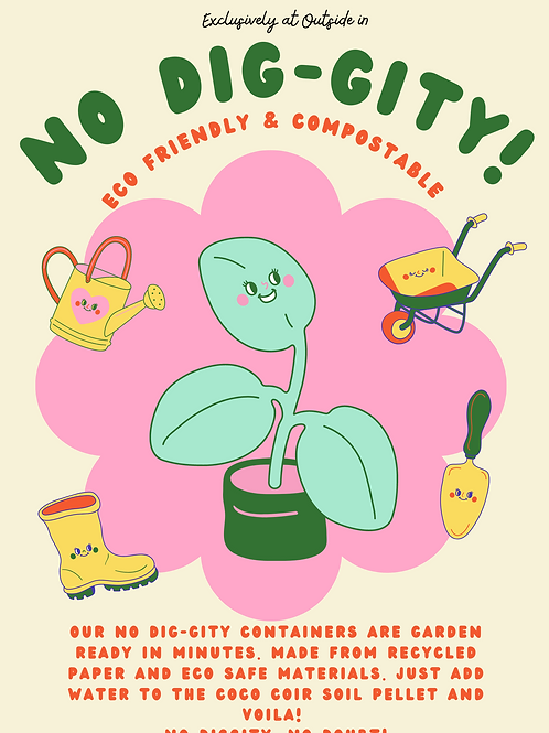 No Dig-gity Garden Starter Kits - Jalapeno!