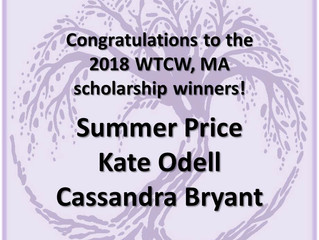 Scholarship Recipients announced!