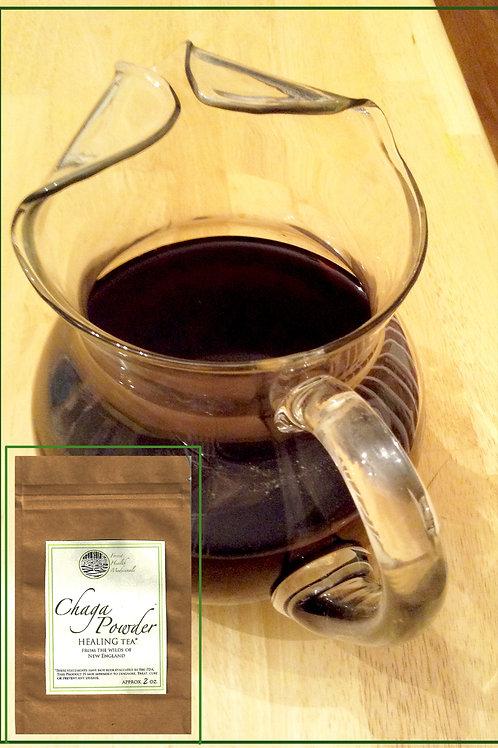 Powdered Chaga Tea - 2 oz. pouch