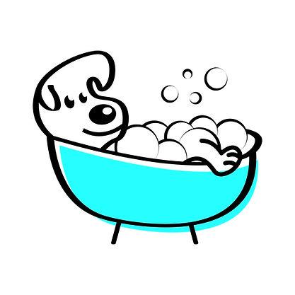 logo Barks & Bubbles