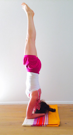 head-stand